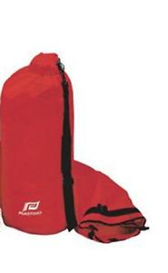 Bolso Estanca Reforzado Muy Resistente Rojo - PLASTIMO - Dimensiones: 61cm x