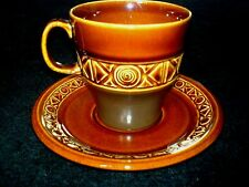 BESWICK ZORBA Mission Brown Cup + Saucer x 1 - Graham Tongue - (5 sets availale)