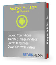 Android Backup Tool Transfer Media Video Photos Restore Manager Files SMS PC