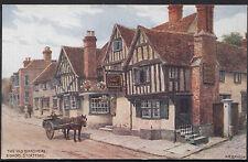 Hertfordshire Postcard - The Old Boar's Head, Bishops Stortford - Quinton  BB462