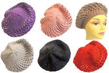 Polyester Beret Vintage Hats for Women