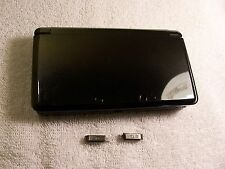 Nintendo 3DS  Housing Top,Bottom Cover Black Shell Repair Parts Full Outside Set