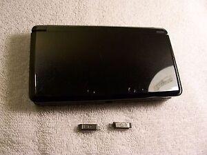 Nintendo 3DS  Housing Top,Bottom Cover Black Shell Repair Parts Full Outside Set