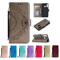 Huawei P30 Lite Handyhülle Flip Case Tasche Schutzhülle Book Cover Hülle Mandala