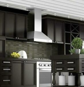 """36"""" ZLINE 👀 KITCHEN DUCTED 430 STAINLESS WALL-MOUNTED RANGE 9697-36 RETAIL $999"""