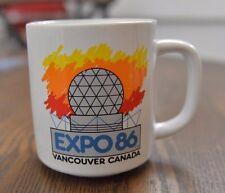 Vintage Expo 86 1986 Vancouver Canada Coffee Mug
