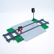 LEGO City - Custom Train Level Crossing - 60051 60197 60198 - Includes Stickers