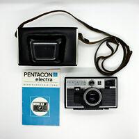 📸 Pentacon Electra Kamera • Tasche • Domiplan 2.8 45mm Lens • 35mm analog retro