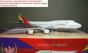 Phoenix 1/400 Asiana B747-400 HL7423 #11615 Diecast Metal Plane @