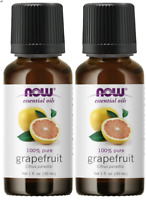 Now Foods, Essential Oils, Grapefruit, 1 fl oz (30ml) - 2 Pack