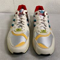 Adidas ZX6000 OG FU8405 Mens Cream Red Yellow Lace Up Sneaker Shoes Size 10