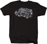 Edelbrock Carb Racing Performance Hotrod Muscle Car Tshirt