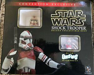 Gentle Giant Star Wars Shock Trooper SDCC Exclusive 2006 Mini Bust 2326/3500