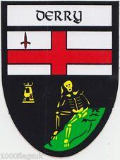 County Derry Ireland Irish Flag Bumper Sticker *
