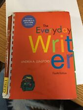 Everyday Writer 4th Edition By Lunsford ISBN 9780312452803 Fourth