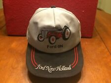 """Vintage Ford New Holland Tractor  """" FORD 8N""""  K Brand Snapback Farmers Hat Rare"""
