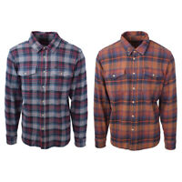 Dark Seas Lakeview L/S Checkered Woven Flannel
