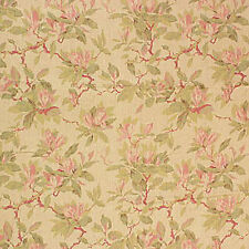 Laura Ashley LA1276 BONNYBROOK 27 TEAROSE Home Decor Floral Linen Drapery Fabric