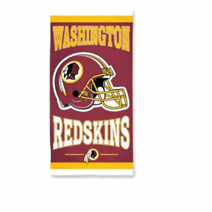 """Officially Licensed NFL Washington Redskins Beach Towel, 30"""" x 60"""""""