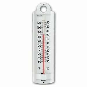 Taylor 5135 Durable Aluminum Indoor / Outdoor Wall Thermometer