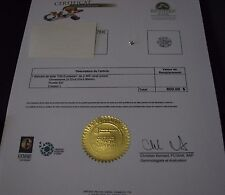 Diamond Loose Round 0.485 Karat SI2 Color L Old European Certified