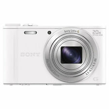Sony Cyber-Shot WX350 18.2MP Compact Camera - White (301616)