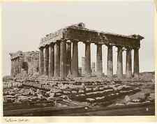Grèce, Athènes, parthenon  Vintage print  Photomécanique  21x27  1900  <di