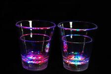 Set of 2 Light Up MultiColor LED Shot Glasses- Fast USA Shipping!