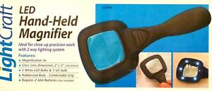 LightCraft LED Hand-Held Magnifier For Models And Hobbies