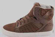 SUPRA SKYTOP Suede Leather SKATE TRAINERS Size 5 EU 38.5 (New)