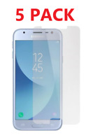 5x For Samsung Galaxy J7/Crown/ Refine/V 2018 Tempered Glass Screen Protector