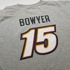 NASCAR Clint Bowyer Mens T-Shirt 4XL Michael Waltrip Racing Gray Big Tall V24