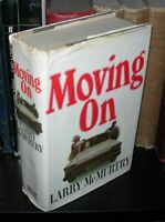 Larry McMurtry / MOVING ON 1970 1ˢᵗ Edition; 2ⁿᵈ Printing