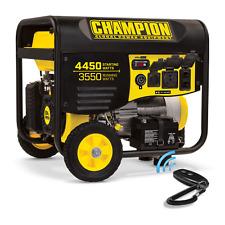 100433R - 3550/4450w Champion Generator, remote start- Refurbished