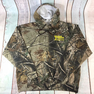 Russell Outdoors Realtree Hoodie Sweatshirt Pullover Camo Hunting Fishing XL