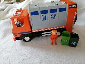 Playmobil 4418 Müllabfuhr, gebraucht