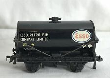 4680 Vintage Hornby OO Gauge BLACK ESSO 3300 Petroleum Co. Ltd Petrol Tank Wagon