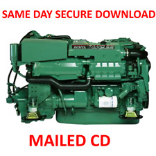 Volvo Penta Marine Engine TAMD 61A-72J Service Manual 61A 62A 63L 63P -PDF on CD