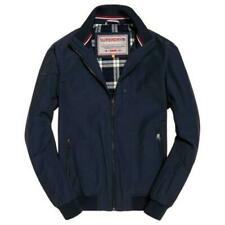 Superdry Blue's Cotton Outer Shell Men