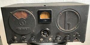 Hallicrafters S22R Radio Receiver Skyrider Marine Tube Shortwave 4 Bands clean