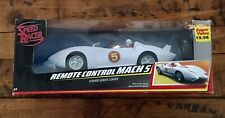 Speed Racer Rc Car Mach 5 Hot Wheels Radio Control Vehicle Mattel Threaded 2008