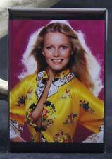 "Cheryl Ladd Pinup 2"" X 3"" Fridge / Locker Magnet."