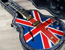"TPP Custom Noel Gallagher ""Union Jack"" Epiphone Sheraton II Frequensator Tribute"