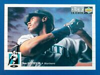 Ken Griffey Jr #117 (1993 Collector Choice) Baseball Card, Seattle Mariners, HOF