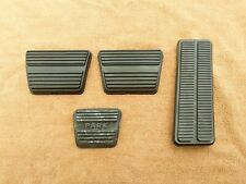 1967-68 NOVA CAMARO Park Brake Clutch Gas Accelerator Pedal Rubber Pad ~ 4PC KIT