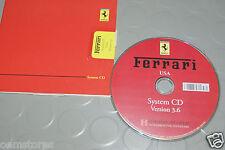 OEM - Ferrari Navigation System CD GPS USA Version 3.6 - MINT!!