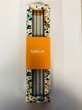 NEW Kipling Pencil Set Meadow Flower green #2 Pencils Wood Wooden AC8225 371