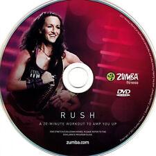 Zumba DVD Rush OVP Fitness Exhilarate + Bonus Outtakes Workout 100% Original