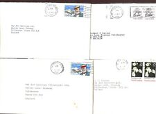 USA 1989,  4 Commercial Covers #C47968