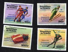 Chad: 1976 Winter Olympic Games, Innsbruck, Austria; complete used set